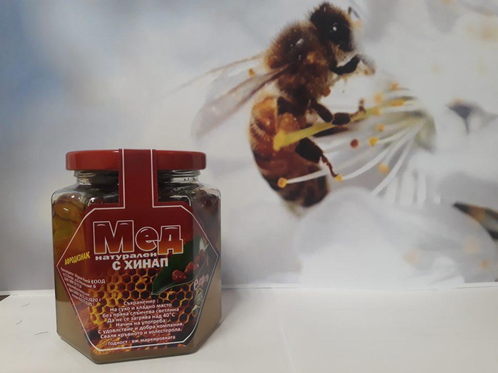 мед с хинап – афродизиак