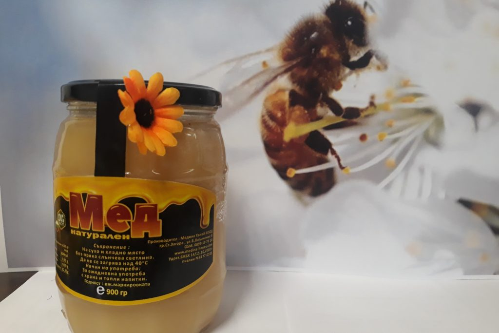 Мед бъчва