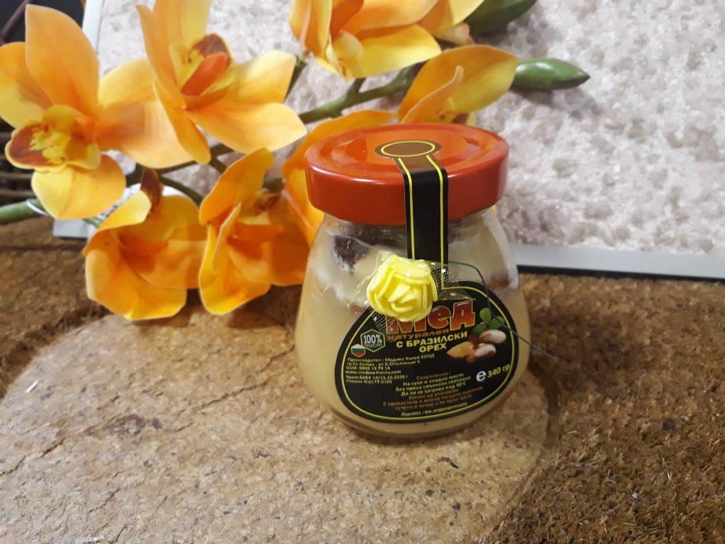 мед с бразилски орех
