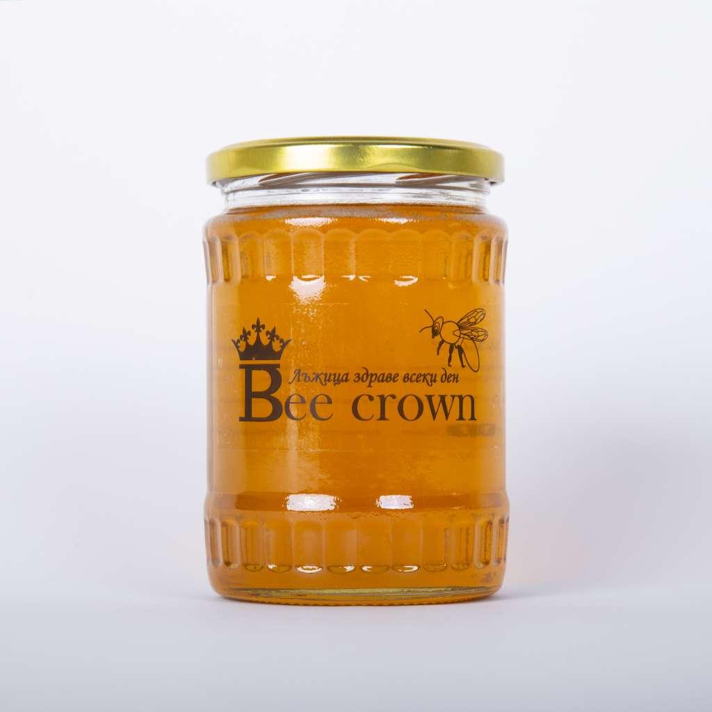 Натурален мед/стъклен буркан 950 гр.