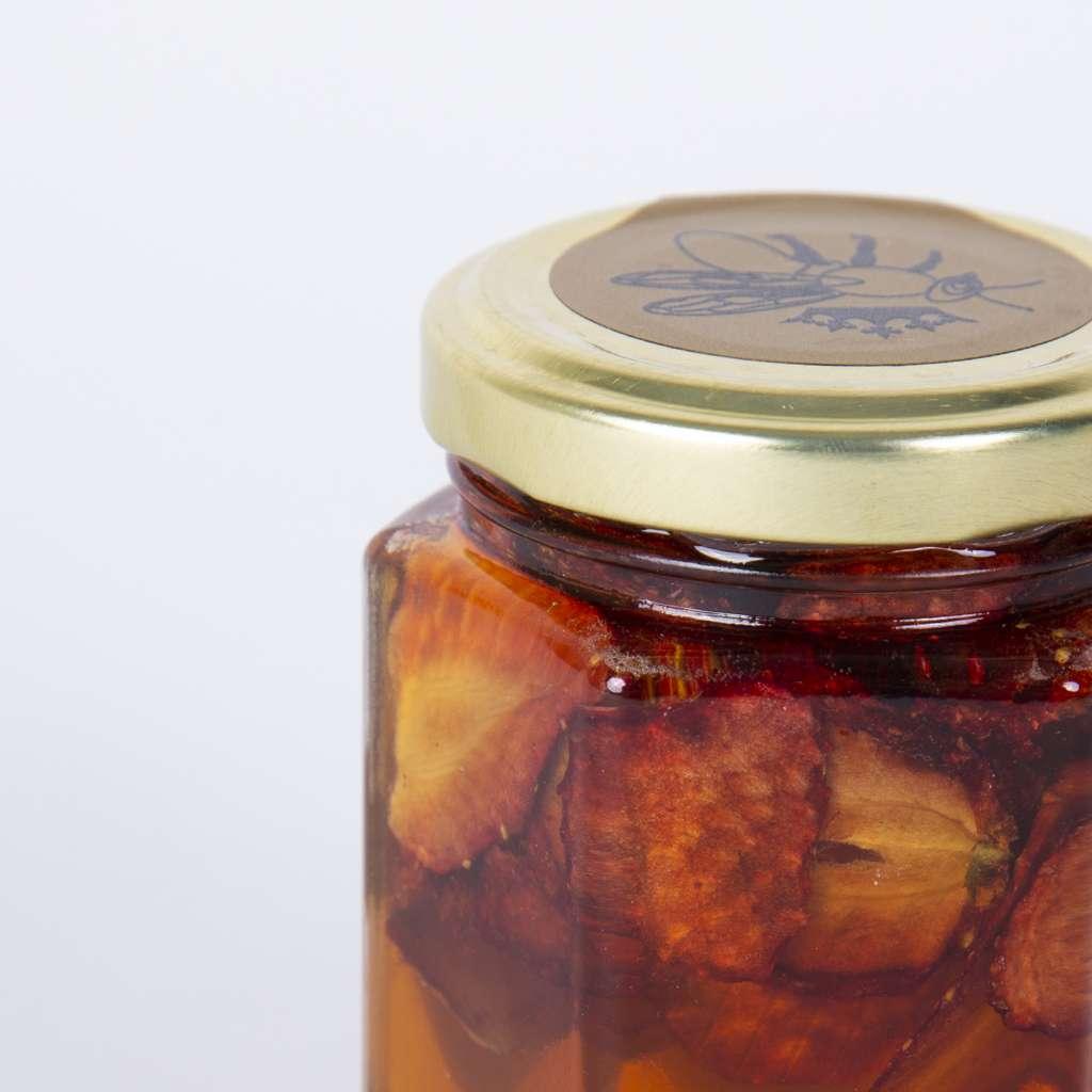 Мед с ягоди/Стъклен буркан 230 гр.
