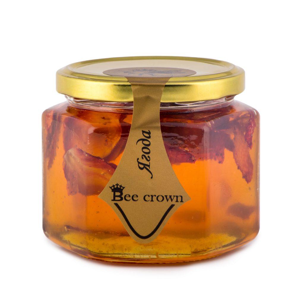 Мед с ягоди/Стъклен буркан 460 гр.